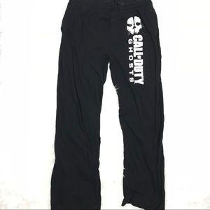 Pants - Call Of Duty Ghosts Women Plus 2XL XXL Sweat Pants